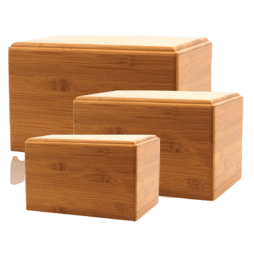 Bamboo Eternity Wood Urns