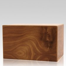 Natural Pet Eternity Large Wood Urn