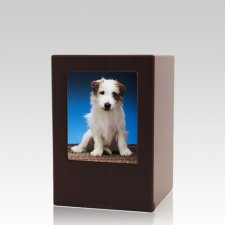 Cherry Pet Small Photo Wood Urn