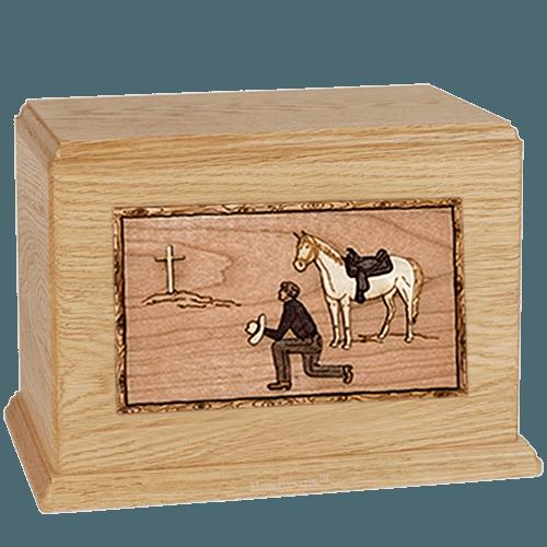 Cowboy Maple Companion Urn