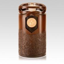 Infinity Wood Marines Cremation Urn