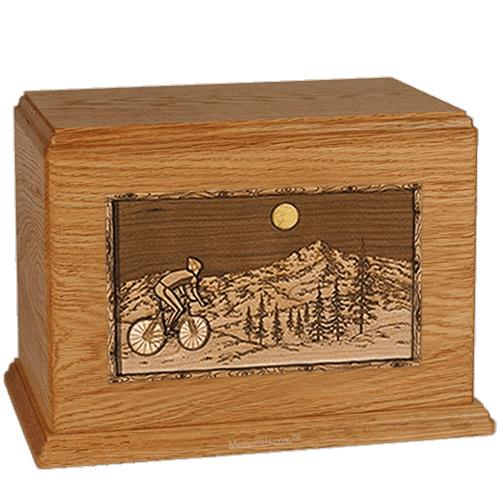 Cycling Mahogany Companion Urn
