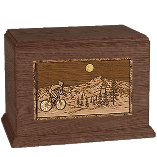 Cycling Walnut Companion Urn