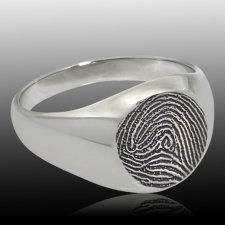 Cachet Cremation Print Rings