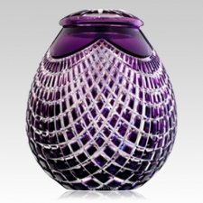 Caesar Glass Child Cremation Urn