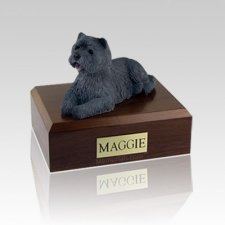 Cairn Terrier Black Large Dog Urn