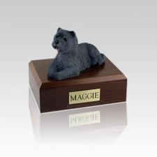 Cairn Terrier Black Small Dog Urn