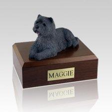 Cairn Terrier Black X Large Dog Urn