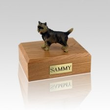 Cairn Terrier Brindle Medium Dog Urn