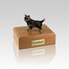 Cairn Terrier Brindle Small Dog Urn