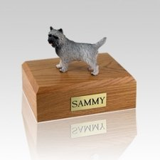 Cairn Terrier Gray Large Dog Urn