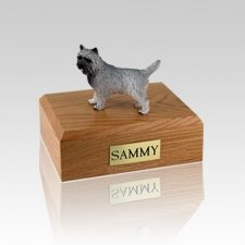 Cairn Terrier Gray Medium Dog Urn