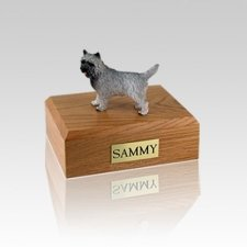 Cairn Terrier Gray Small Dog Urn