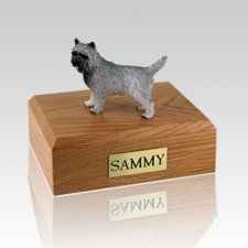 Cairn Terrier Gray X Large Dog Urn