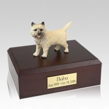 Cairn Terrier Large Dog Urn