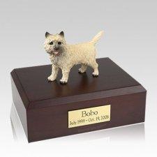 Cairn Terrier Large Dog Urn