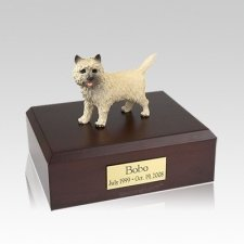 Cairn Terrier Medium Dog Urn