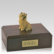 Cairn Terrier Tan Sitting X Large Dog Urn