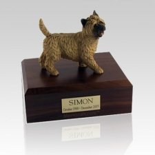Cairn Terrier Walking Large Dog Urn
