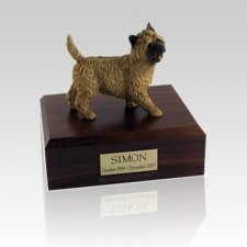 Cairn Terrier Walking Medium Dog Urn