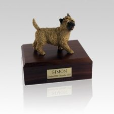 Cairn Terrier Walking Small Dog Urn
