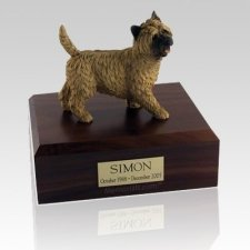 Cairn Terrier Walking X Large Dog Urn