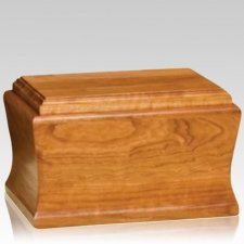 Cambridge Cherry Wood Cremation Urns