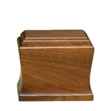 Cambridge Mahogany Pet Urn