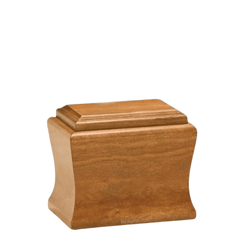 Cambridge Small Cherry Wood Urn