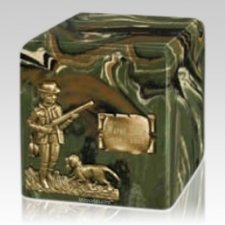 Cammo Hunter Cremation Urn