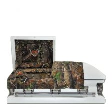 Camo Child Caskets