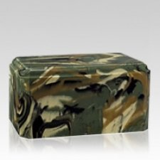 Camo Military Cremation Urn