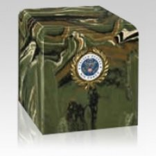 Camouflage Air Force Military Urn