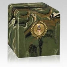 Camouflage Army Military Urn