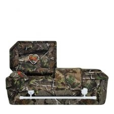 Camouflage Small Child Casket