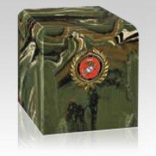 Camouflage Marines Military Urn