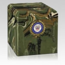 Camouflage Navy Military Urn