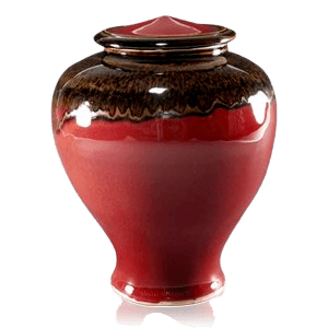 Candy Apple Art Cremation Urn