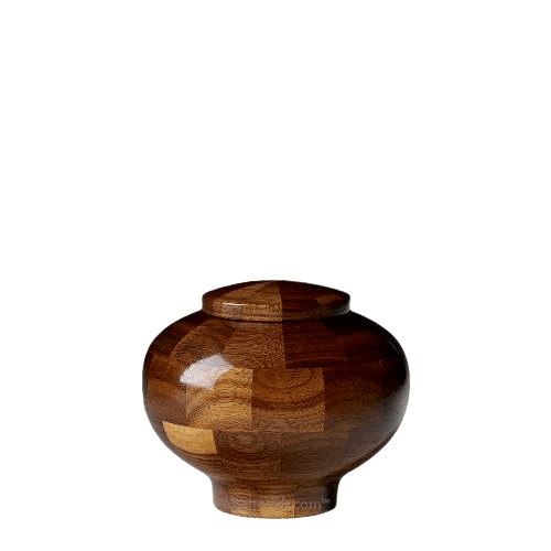 Canton Keepsake Wood Urn