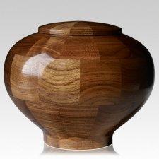 Canton Large Wood Urn