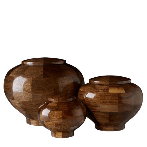 Canton Wood Cremation Urns