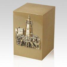 Cape & Cliff Bronze Cremation Urn