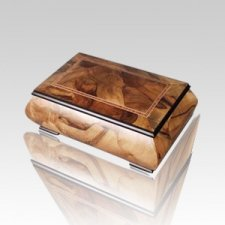 Iscia Children Wood Cremation Urn