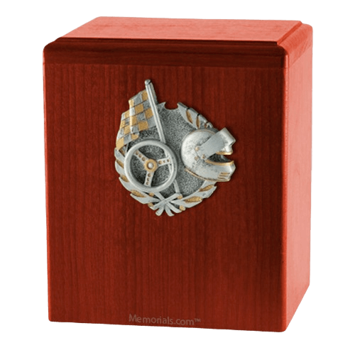 Car Racing Cherry Cremation Urn