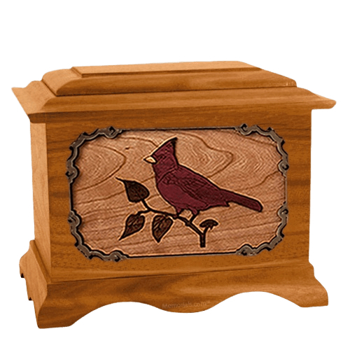 Cardinal Mahogany Cremation Urn