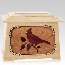 Cardinal Maple Aristocrat Cremation Urn