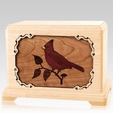 Cardinal Maple Hampton Cremation Urn