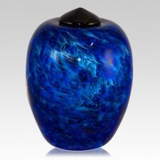 Caribic Water Glass Cremation Urn