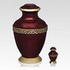 Carmine Cremation Urns
