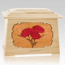 Carnation Maple Aristocrat Cremation Urn